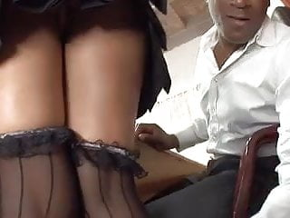 Teacher fucks hairy student - Teacher fucks the student
