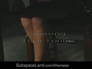 Teen font Erica fontes spanked and fucked in sub