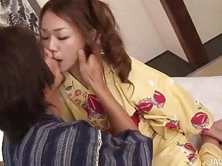 Guy touching breast Sakura hirota and her guy touching and fucking