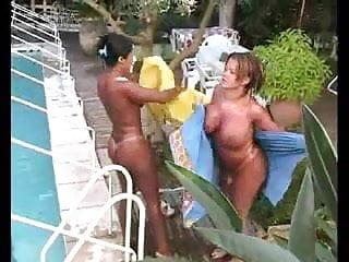 Hardcore lesbian big boobs Big boobs busty tits and dick brunette blonde