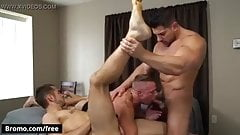 Gay Sex : Ashton Springs, Dante Cole, Damien Stone (Trailer)