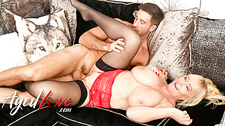AGEDLOVE Handy Guy and Horny Mature