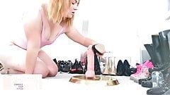 10 iNCH SQUaT CHaLLENGE - Shannon Heels