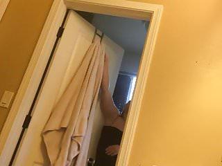 Sister handjob clip Towel time for sweet sister hidden cam clip
