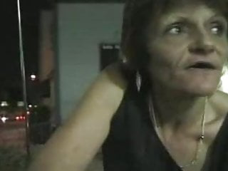 Prostitute sex vids Skanky old prostitute picked up and fucked by two guys