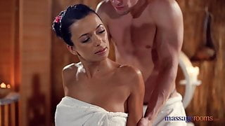 Massage Rooms Sexy brunettes hot tight slick tanned body
