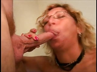 Blonde whores drink cum Mature mom with glasses sucking dick and drink cum
