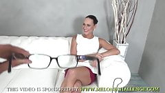 Mea Melone & photographer without hard cock