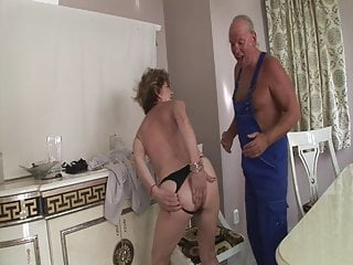 Ass fucking clips grandma Craftsman fucks grandmas old ass