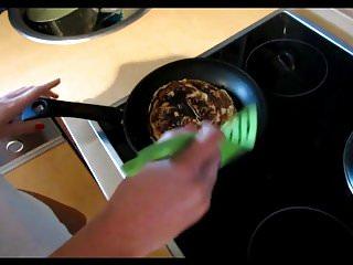 Pancake breasts - Pancakes tastes better with creampie