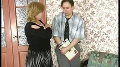 Amateur Mom and young boy 02