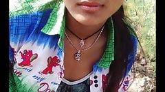 Indian girl outdoor