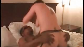 Cuckold Archive Humiliated husband watching wife with 3 BBCs