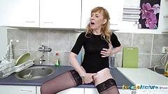 EuropeMaturE Hot Mature Milf Solo Masturbation