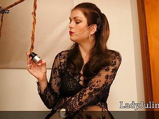 Clit popper Joi fuer sklaven poppers sau german mistress lady julina