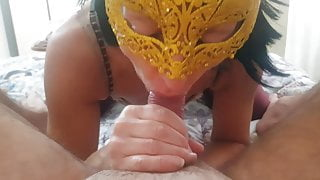Our first cum in mouth compilation