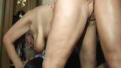 Grandma seduced by lustful stepson