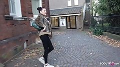 GERMAN SCOUT - MATURE TALK TO FUCK AT REAL PICKUP CASTING