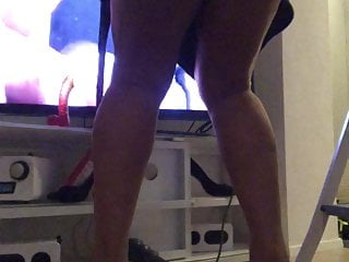 Ass toyed shemales movie previews Pissing high heels nylonfeet dildo my movie legs ts shemale