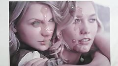 Taylor Swift and Karlie Kloss Cum Tribute 2