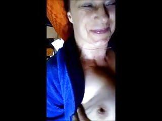 Fondling tit Granny lovrs tits fondling
