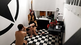 Feet massage for the Mistress