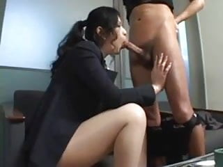 Asian secretary video - Asian secretary rides her bosses-by packmans