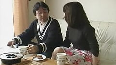 Japanese wife husband fucks girl - uncensored (MrNo)