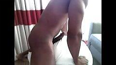 Black man pillow humping 5 orgasm compilation
