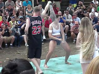 Vintage punk t shirt Amateur wet t-shirt contest - ponderosa 2016