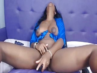 Slutty black pussy The way black colombian women toying her slutty cunt