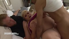 Watching your huge tits girlfriend fucked by another man