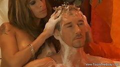 Handjob Massage Is All He Needs