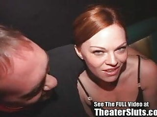 Top red head sluts - Red head slut queen kayce ravaged in porno theater