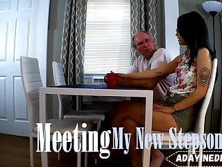 Meet my sexy young sister Meeting my new stepson : a teaser