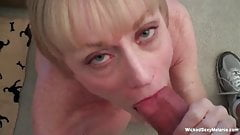 GILF Lives In Her Own Sex World