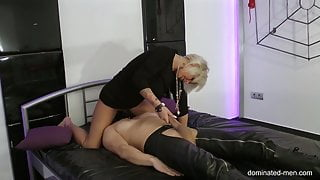 Dominated-Men.com - You must lick me Slave - Runined Orgasm