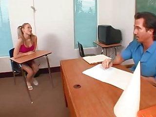 Blond pigtail porn - Teen schoolgirl in pigtails fucks her teacher