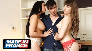 Hot Stripper is invited for a threesome