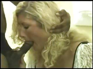 Cock craving cum sucker - Blonde wife craves black cock