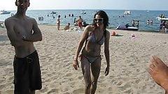 Jen at beach 1