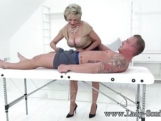 Ebony shemales hung cum Hot euro milf jerks off hung stud and savors his cum