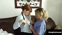 Lesbian Doctors Penny Pax And Cali Carter Take A Horny Break