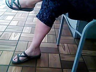 Teen feet in sandels - Granny sandels
