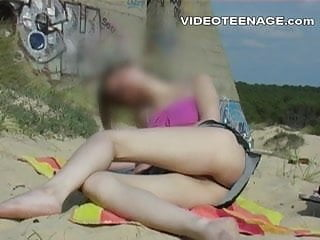 Real nude camps - Real teen nude at beach