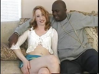 Crammed in pussy Amateur chick crams her tight hole with black cock