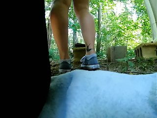 Real thick slut videos Banging a thick slut in the forest