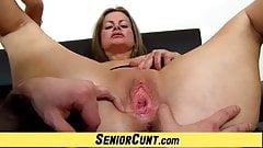 Gorgeous Czech Milf Denisa enjoys pussy play