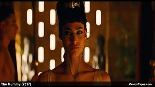 celebrity Sofia Boutella naked and sexy movie scenes