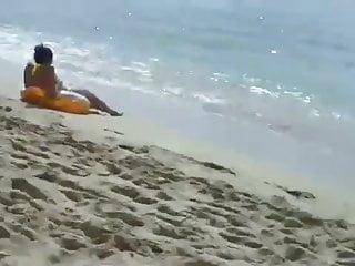 Boob exam pic scam - Candid beach scam 2